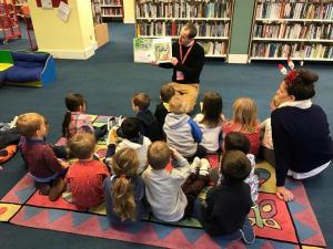 Moordown Preschool Library