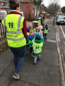 Moordown Preschool Out and About