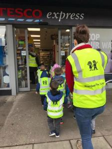 Moordown Preschool Shopping